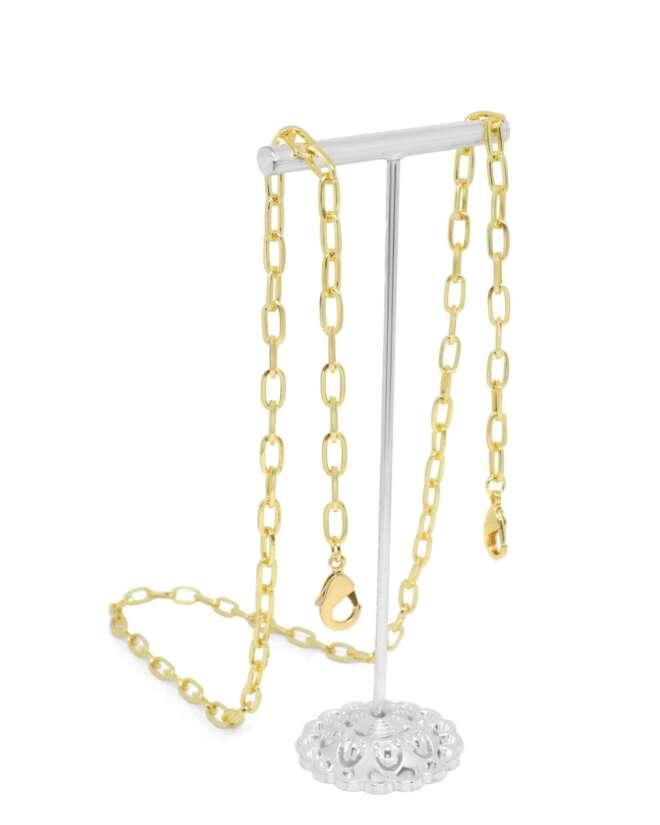 Figaro Gold Mask Chain