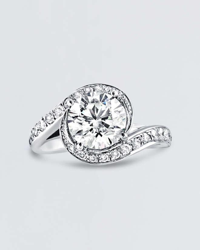 Reverie Diamond Gold Ring