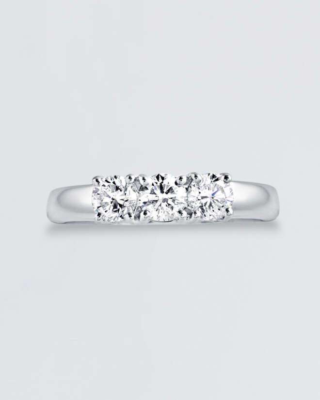 Diamond Trinity Ring
