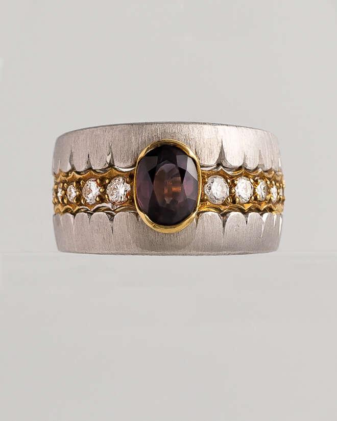 Sovereign Charmed Diamond Ring