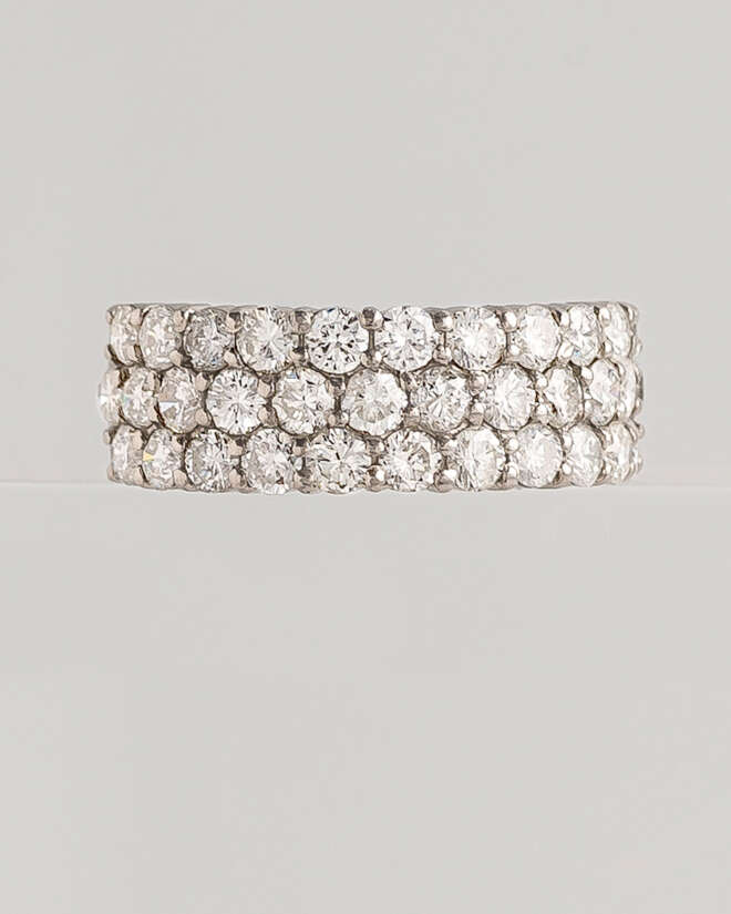 Worthy Queen's White Gold Diamond Ring